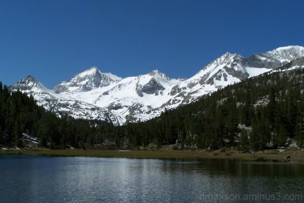 Eastern Sierras in snow