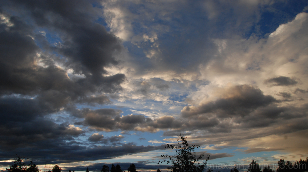 Sunset at Divide