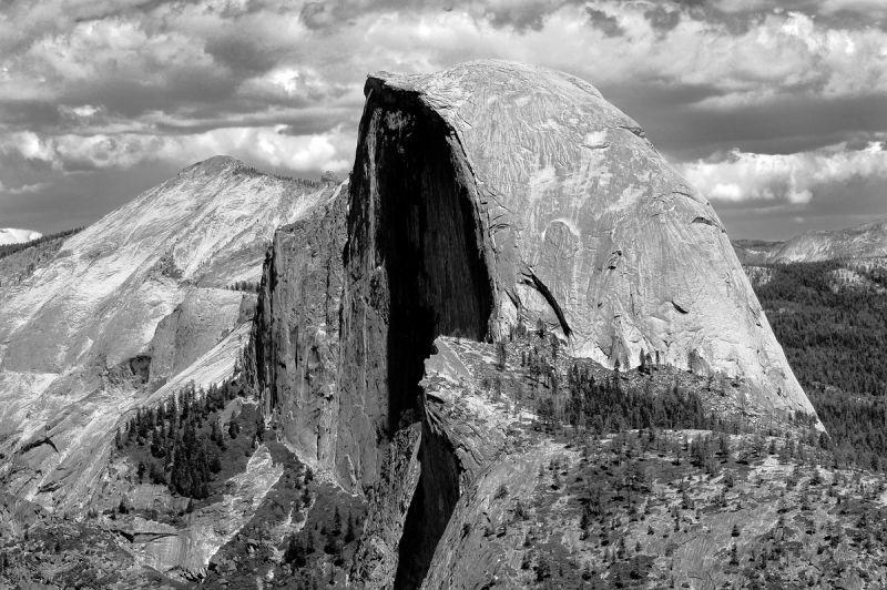 Half-dome Yosemite