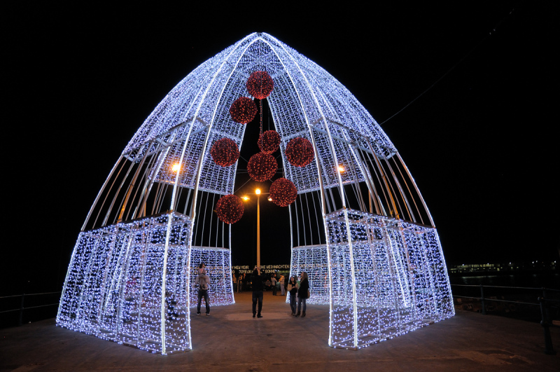 Luces de navidad. Lights of Xmas