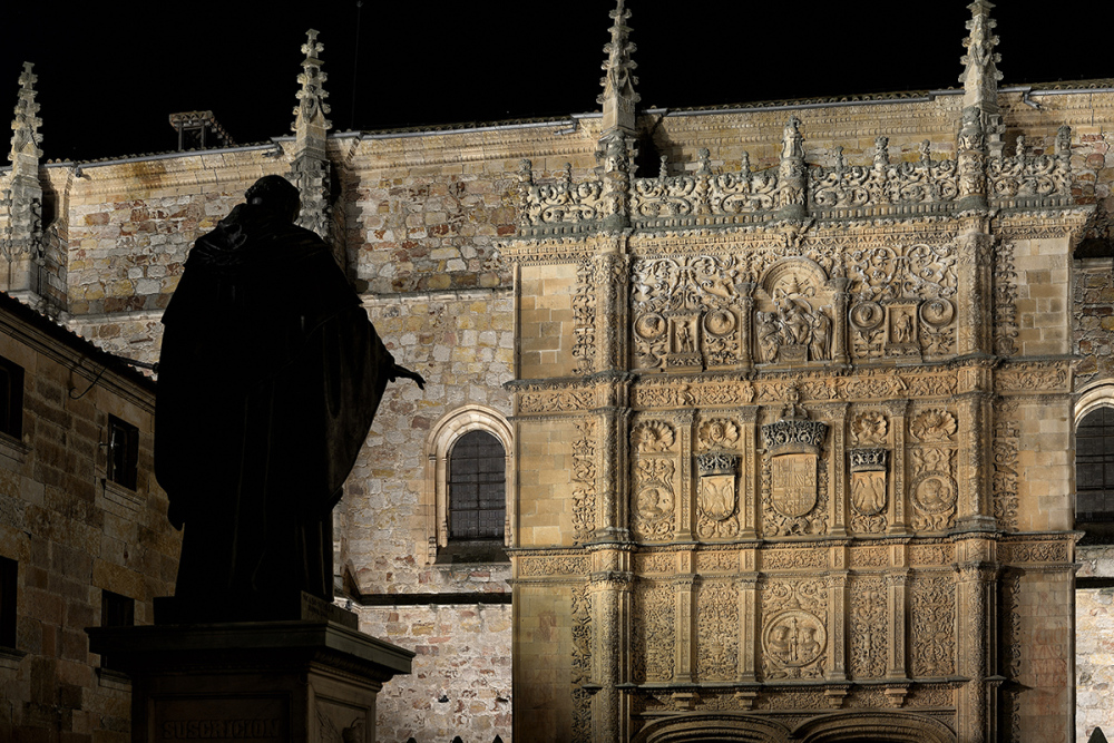 Luz y noche. Light and night in Salamanca. 3