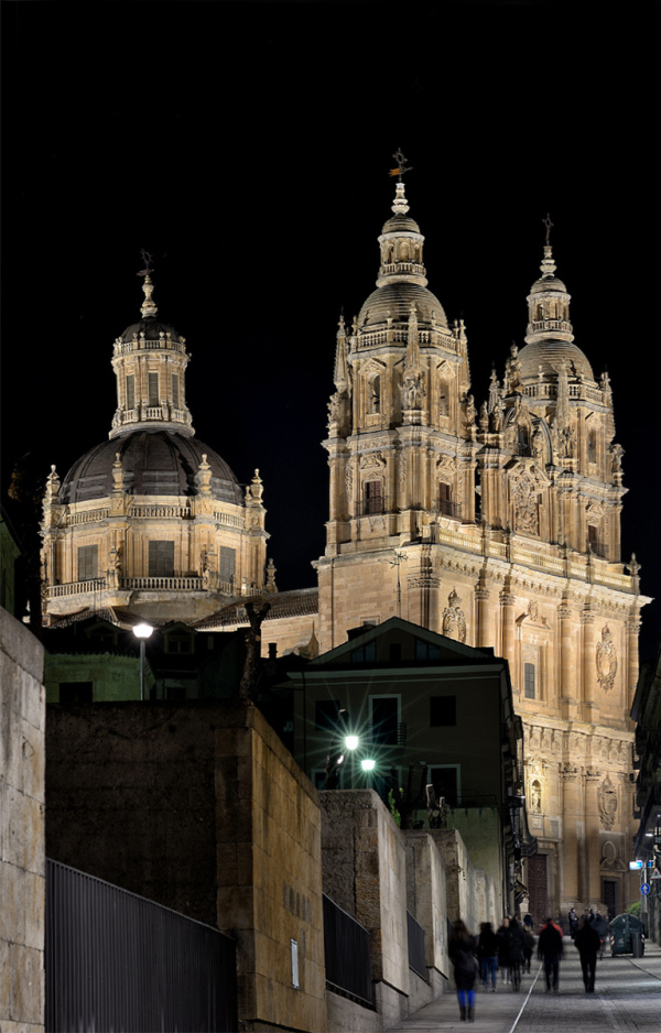 Luz y noche. Light and night in Salamanca. 4