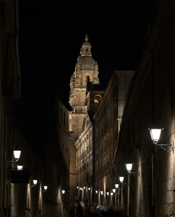 Luz y noche. Light and night in Salamanca. 6