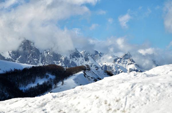 Las últimas nieves. The last snows