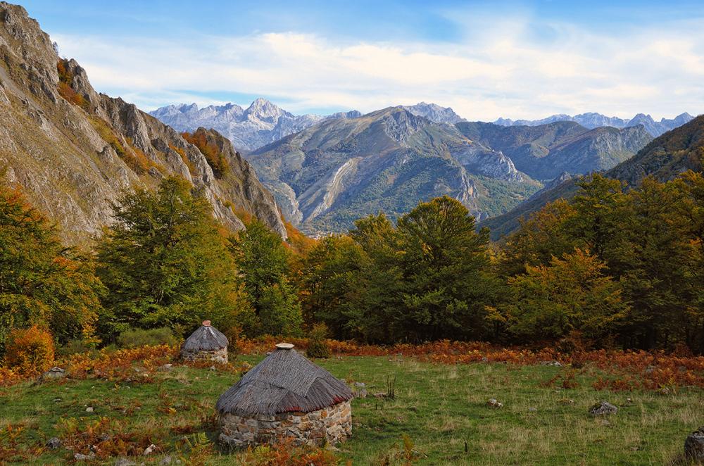 Otoño en los altos. Autumn in the heights.