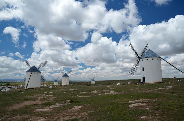 La tierra de don Quijote. Don Quixote's land