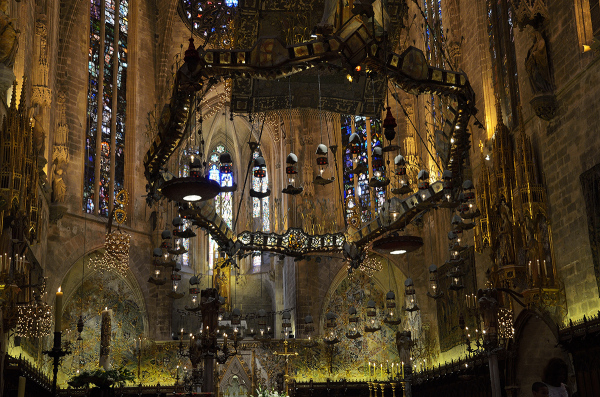Luces en la Catedral. Cathedral's lights