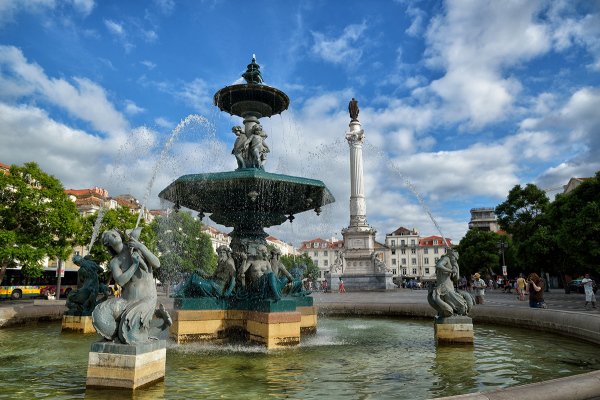 Plaza de Lisboa. Lisbon's square. #2