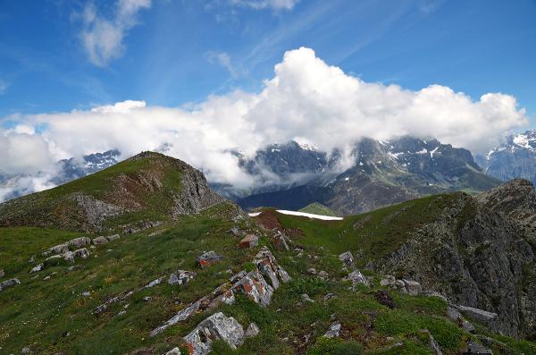 Roca y nubes. Rock and clouds. #3