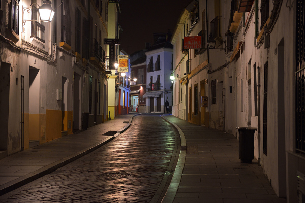 Paseo por la noche. Walk at night #3