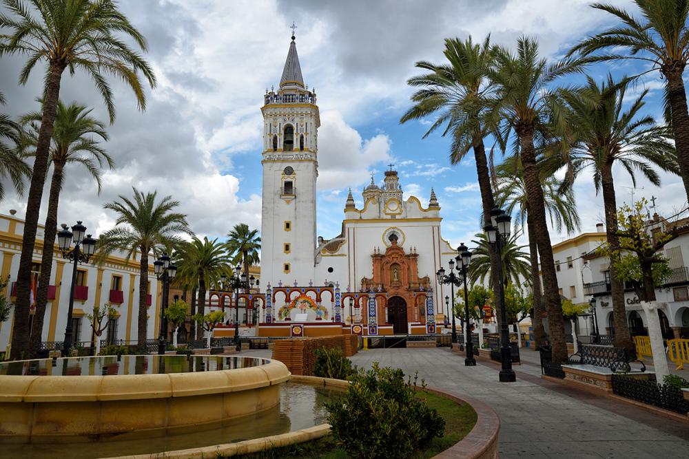 Plaza andaluza. Andalusian plaza
