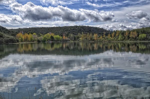 Lagunas de Ruidera. Ruidera's lakes.