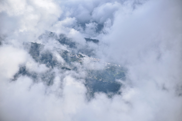 Entre las nubes. Among the clouds #2
