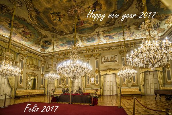 Feliz año nuevo. Happy new year.