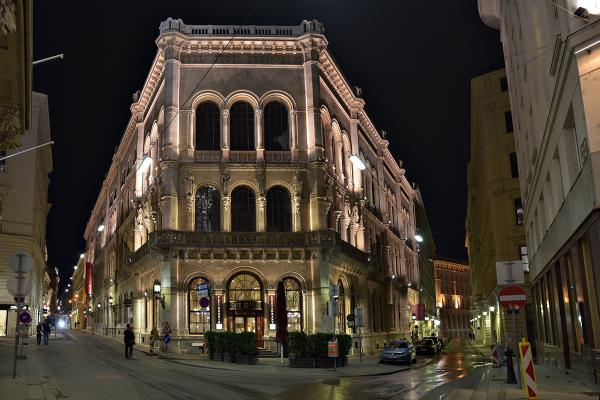 Cafe Central. Viena