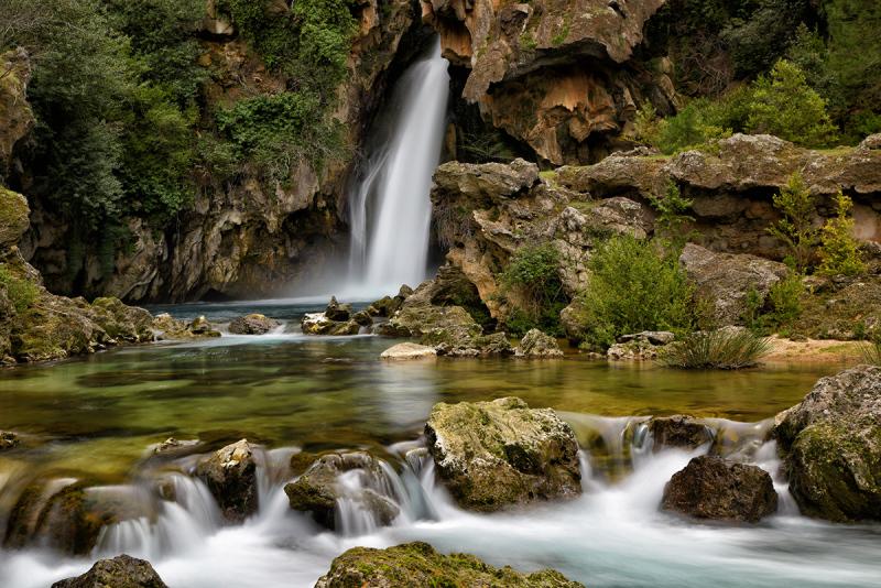Río Borosa. Water falls of Borosa River-01
