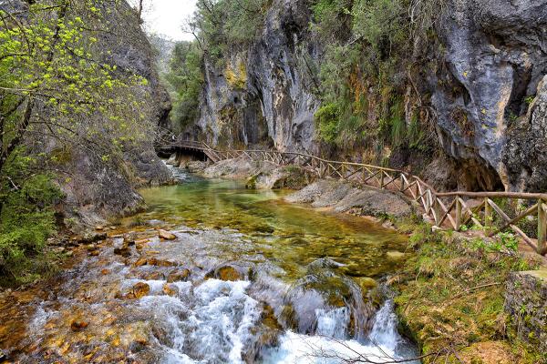 Río Borosa. Cerrada de Elías. Elías' enclosure