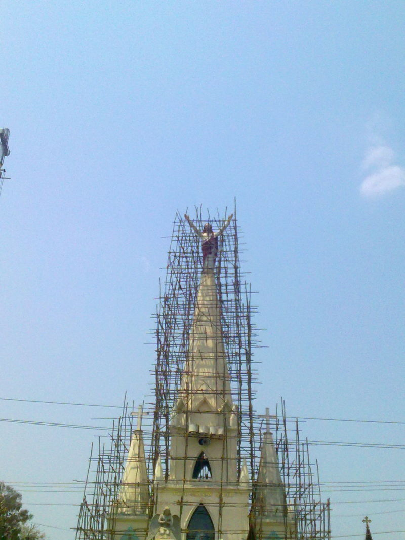 god under construction