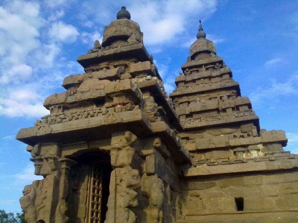 sea shore temple
