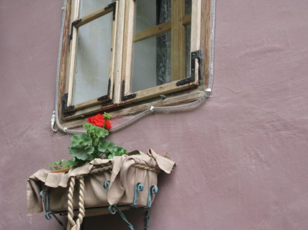 o casa din sighisoara (romania)