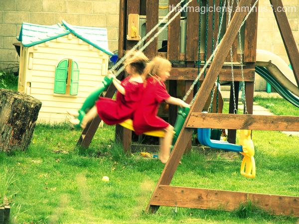 Fun in the Backyard