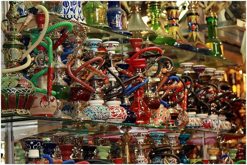 Nargile - Grand Bazaar in Constantinopoli , Turkey