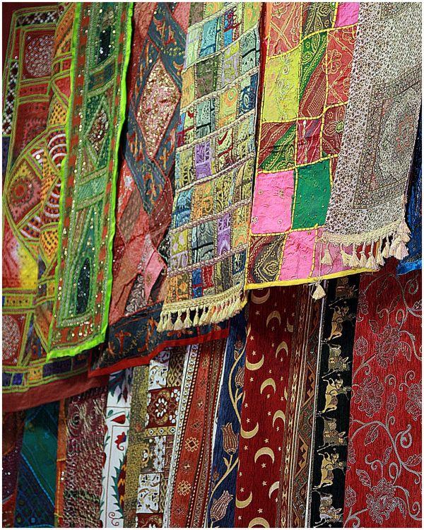Carpets from Grand Bazaar in Const/polis, Turkey.