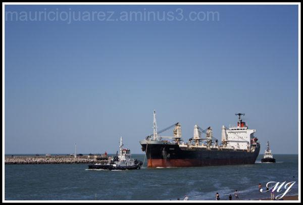 Entrando a puerto