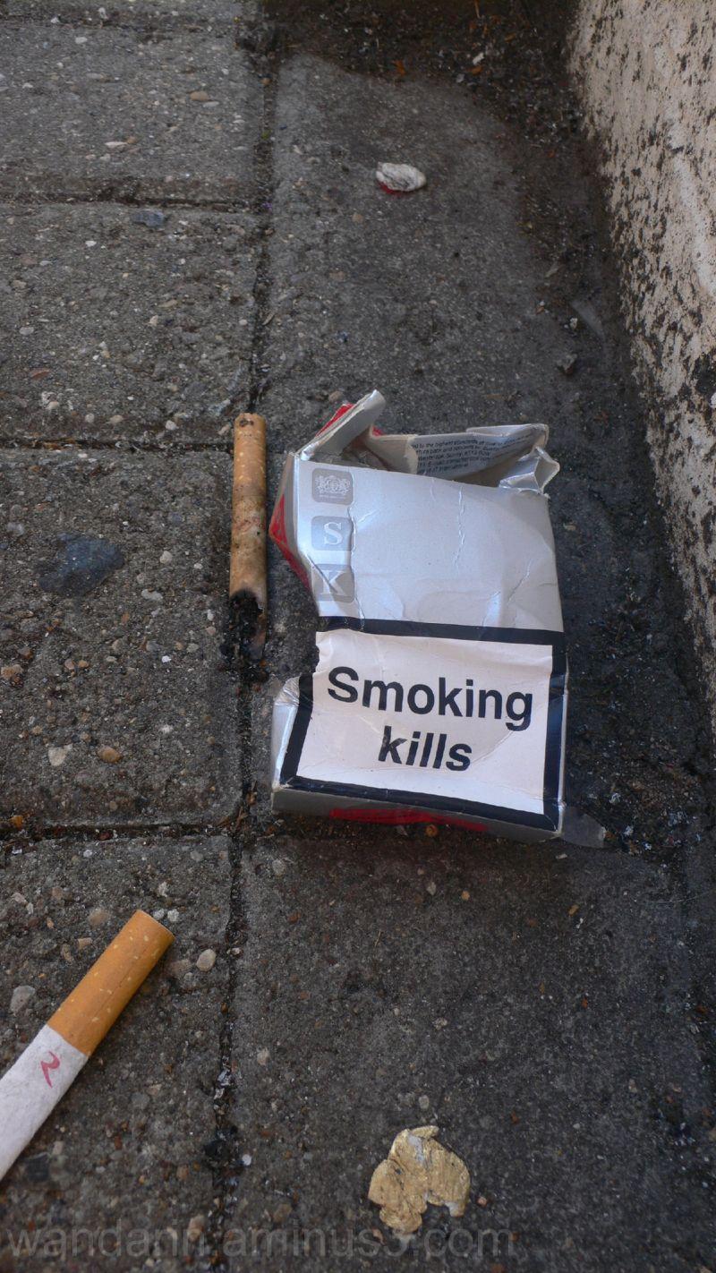 Truthful box of cigarettes