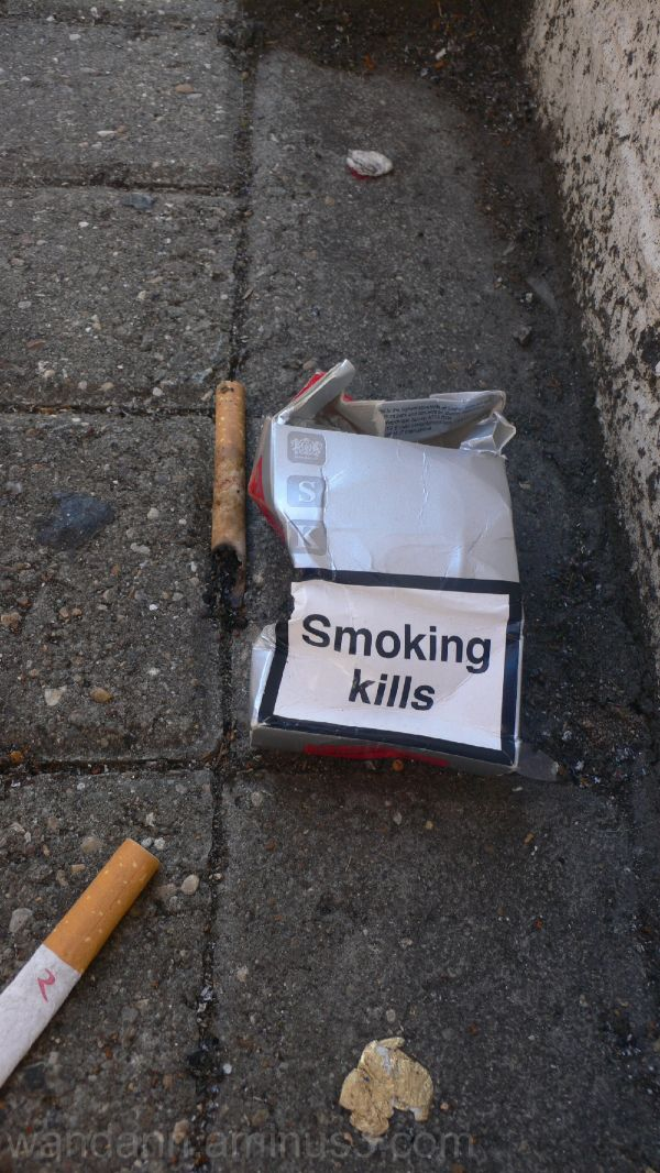 Truthful box of cigarettes
