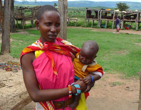 Serie Kenia XI: Una mama Masai