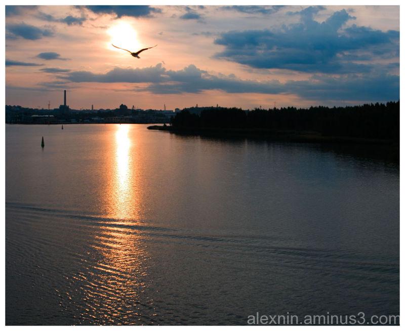 Sunrise Over Turku