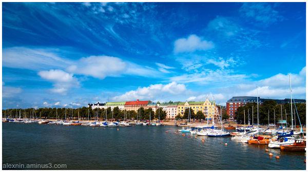 Helsinki from the Sea