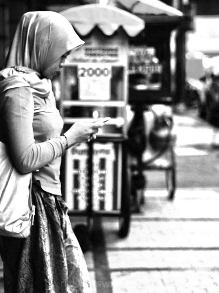 Texting.....