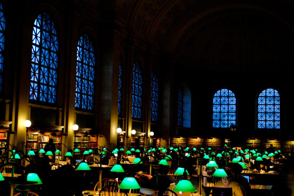 Lights of green
