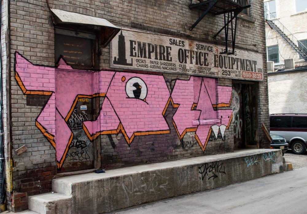 Back alley art