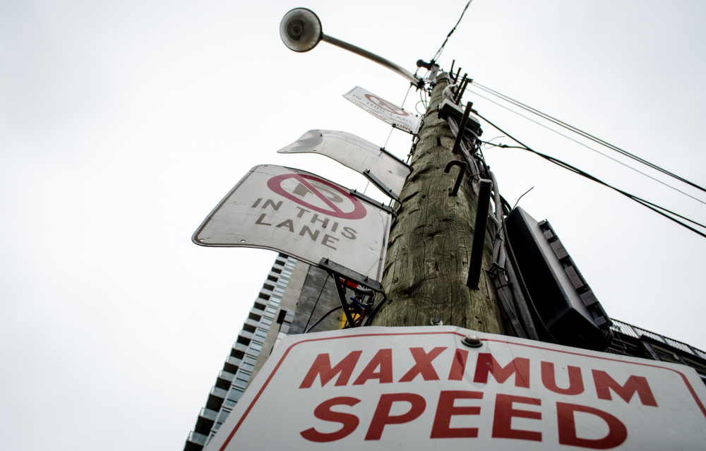 Forever speed and parking