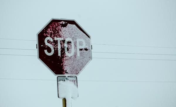 Winter stop