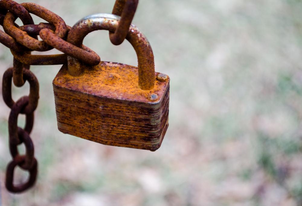 Locked in rust