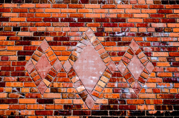 Triangle and brick