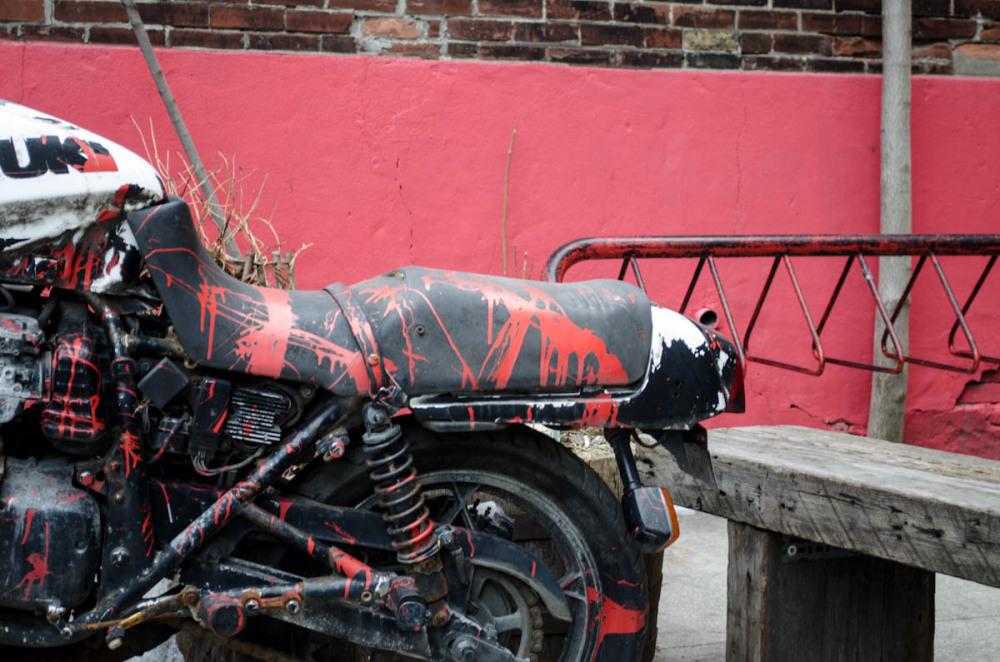 Paint bike