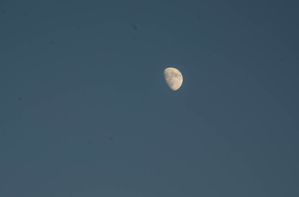 A tad less of the moon
