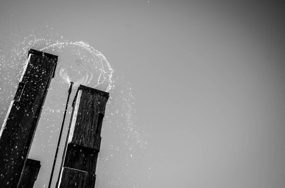Water will fall