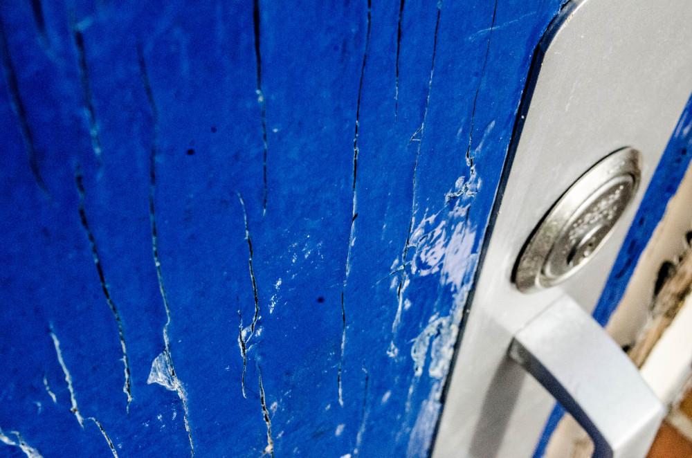 Cracks in the door