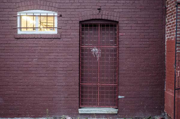 Gated door