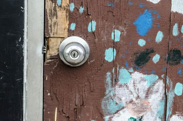 Dotted door