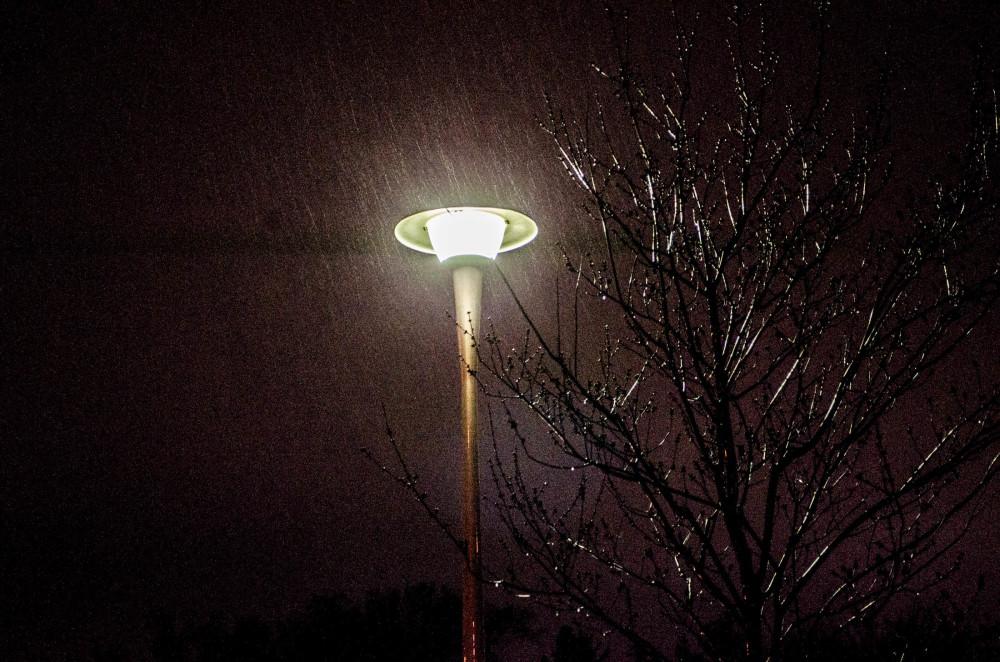 Light in rain