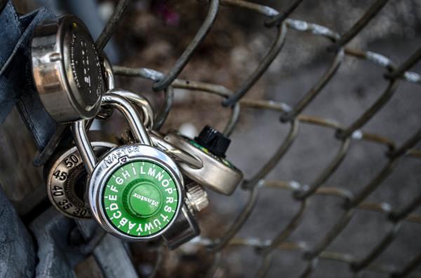 Locked up tight