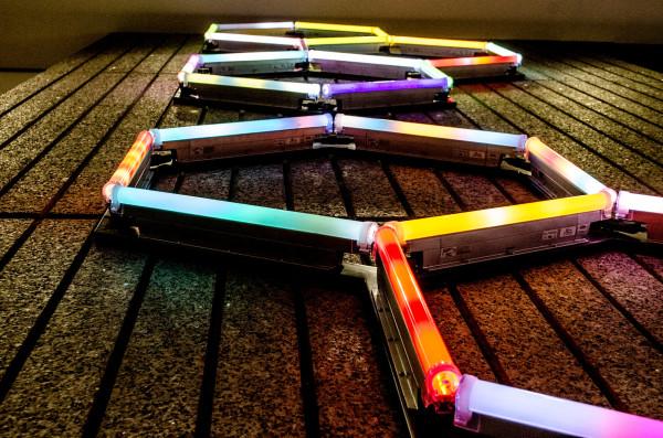 Lines of neon