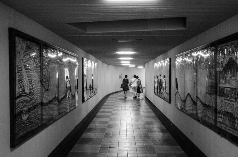 Underground walk